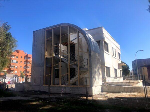 Edificio de Protección Civil en Los Molinos.