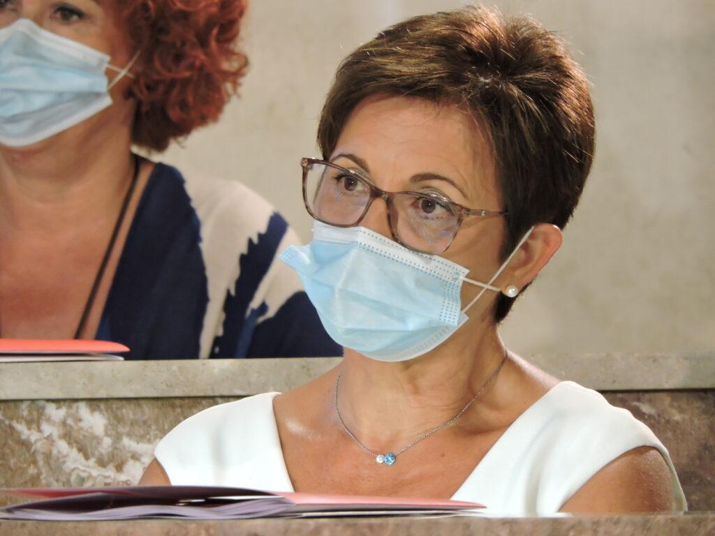 Adriana Valverde, portavoz del PSOE en el Ayuntamiento de Almería.