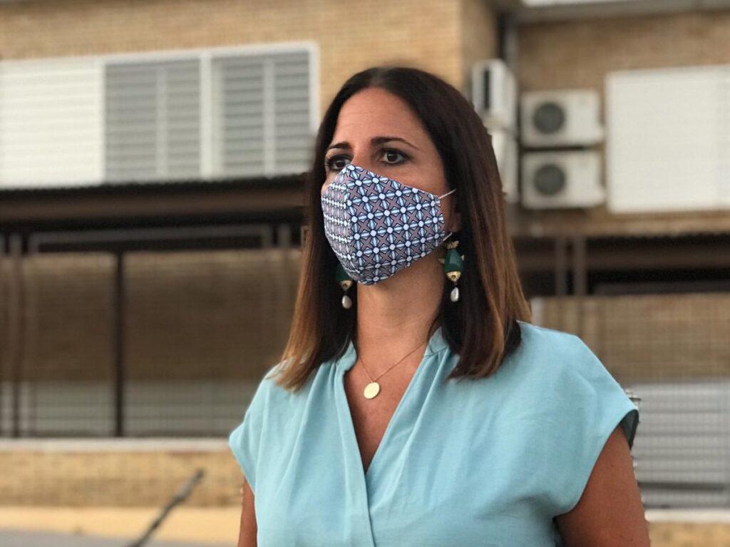 Inés Plaza, portavoz de educación del PSOE en el Senado