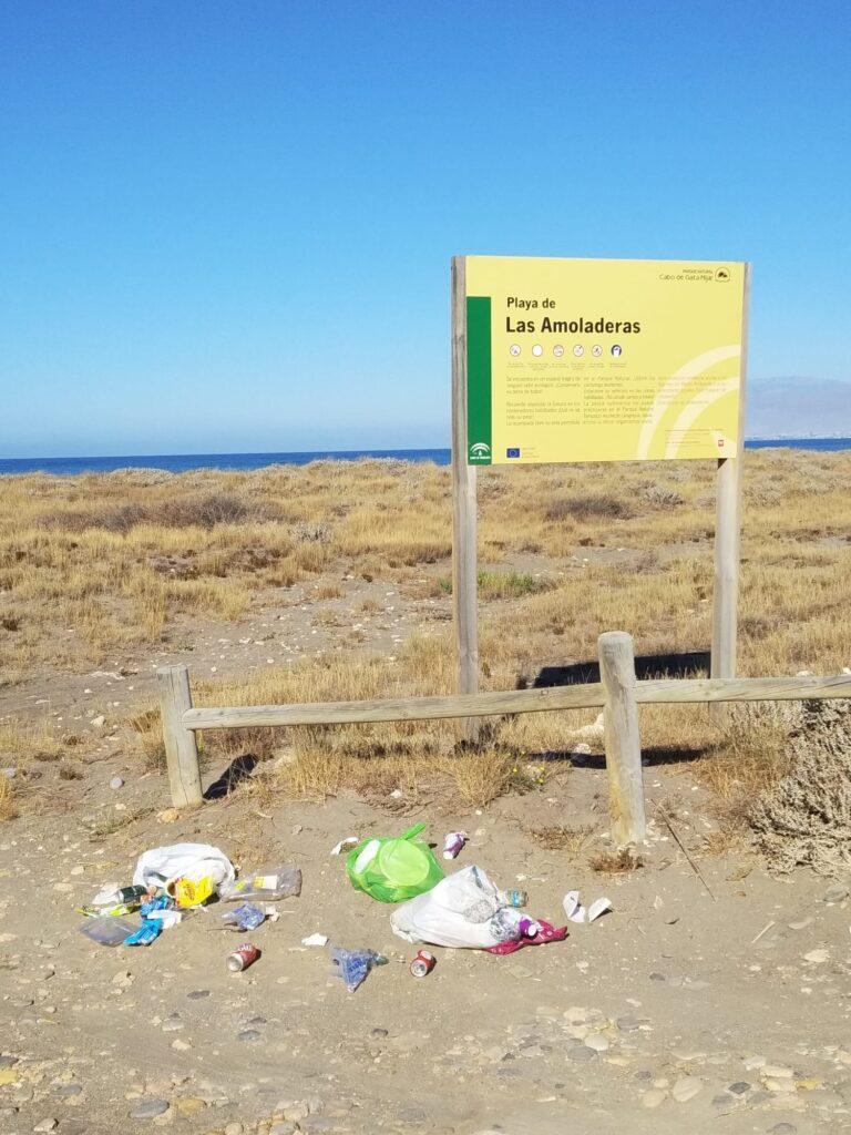 Playa de las Amoladeras.