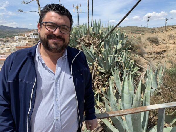 Rafael Montes, alcalde de Fiñana.