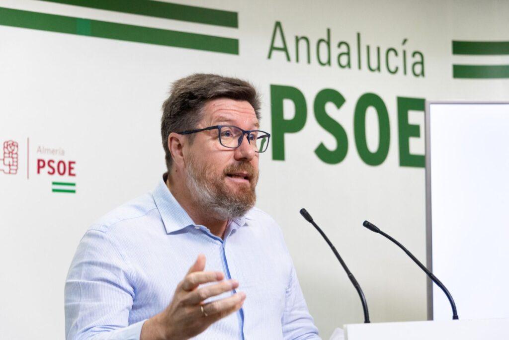 Rodrigo Sánchez Haro, Parlamentario andaluz del PSOE de Almería