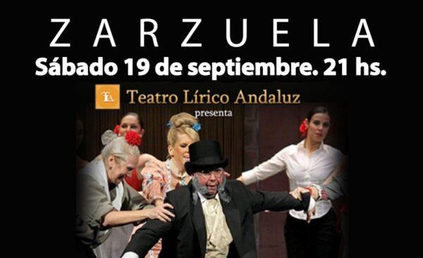 Cartel de Zarzuela