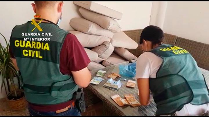 Guardia Civil tráfico de drogas