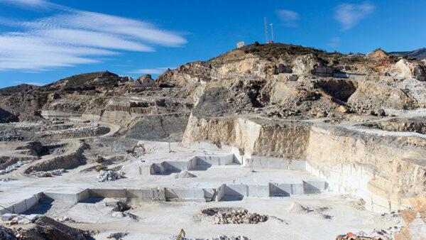 Canteras de mármol en la comarca del Almanzora