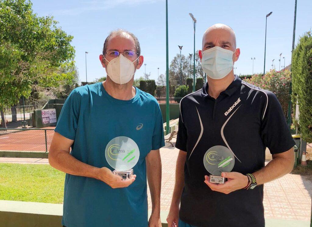Antonio Vargas y Rogelio Hidalgo, finalistas en +40