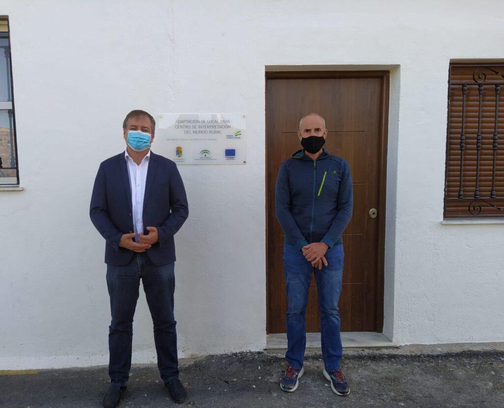 Visita al museo de Albanchez.