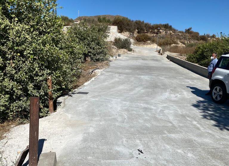 Camino Molino de Almanzora