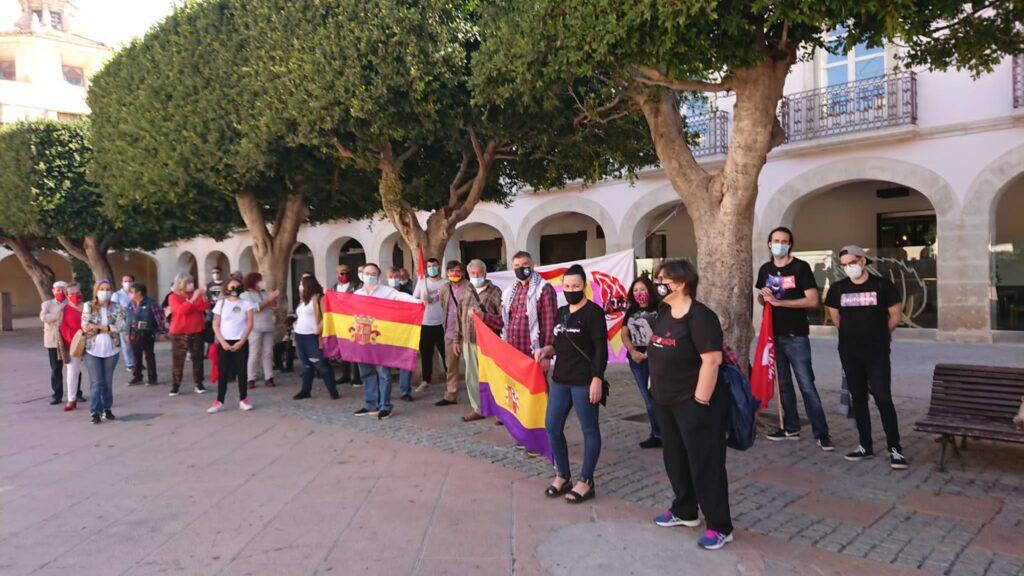 Concentración por la república en la Plaza Vieja