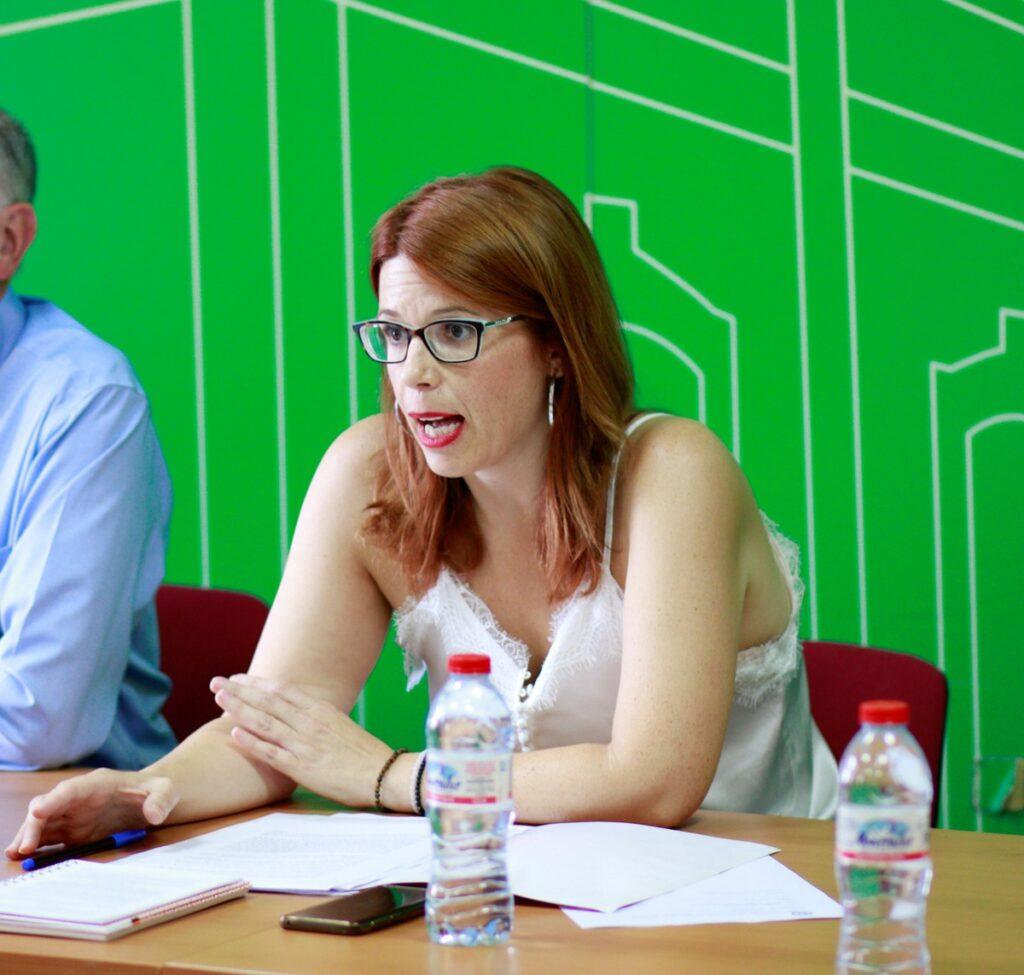 Ángeles Castillo, Presidenta de la Mancomunidad del Bajo Andarax