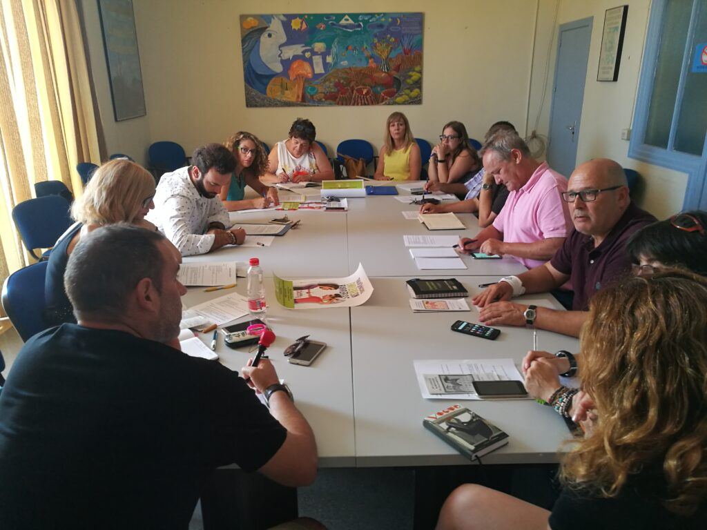 Reunión del consejo Pro Salud Mental en una imagen de archivo.