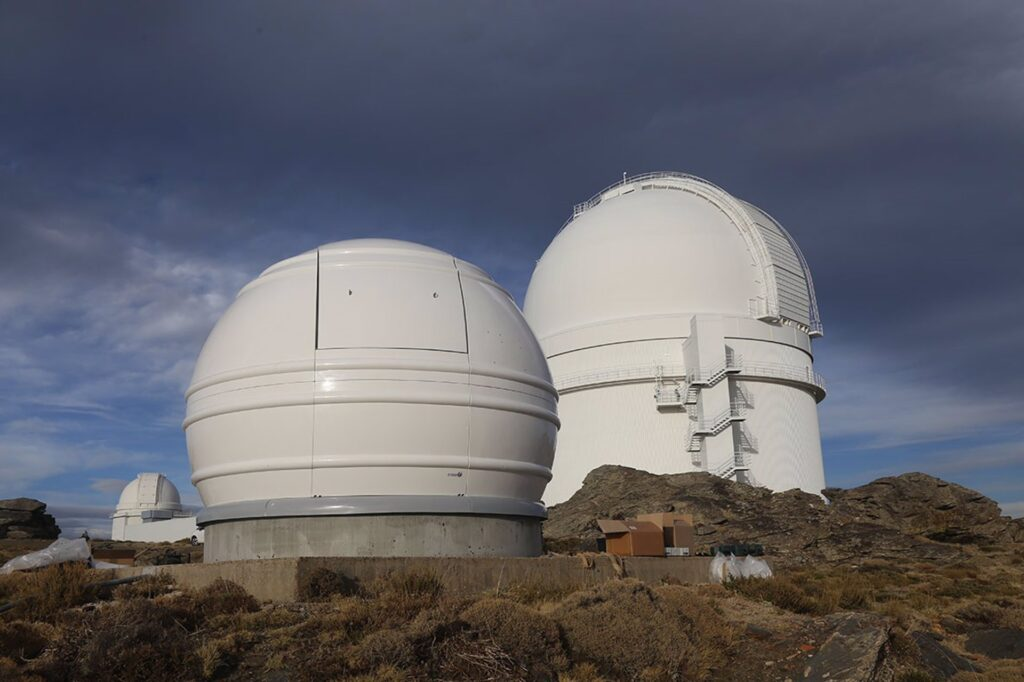 Telescopios de Calar Alto.