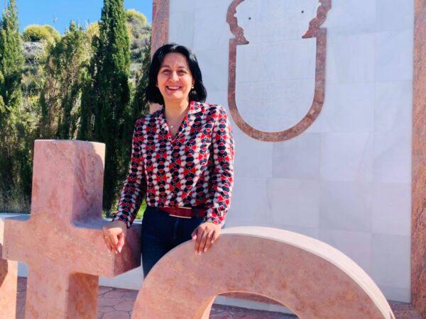 Puri Sánchez, alcaldesa de Cantoria