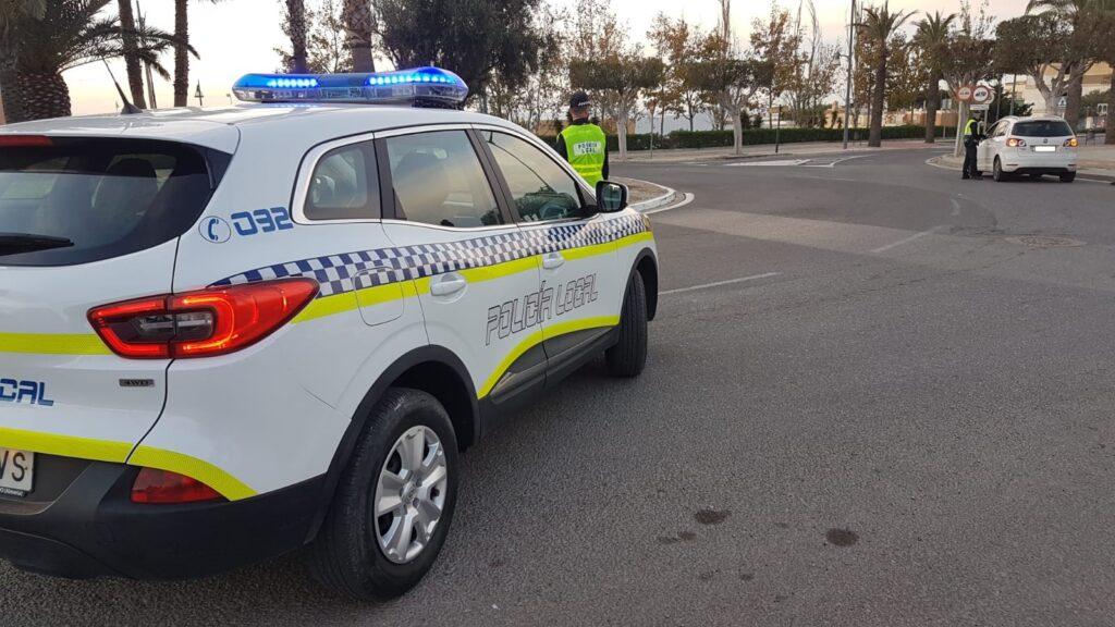 Agentes de la Policía Local de El Ejido.