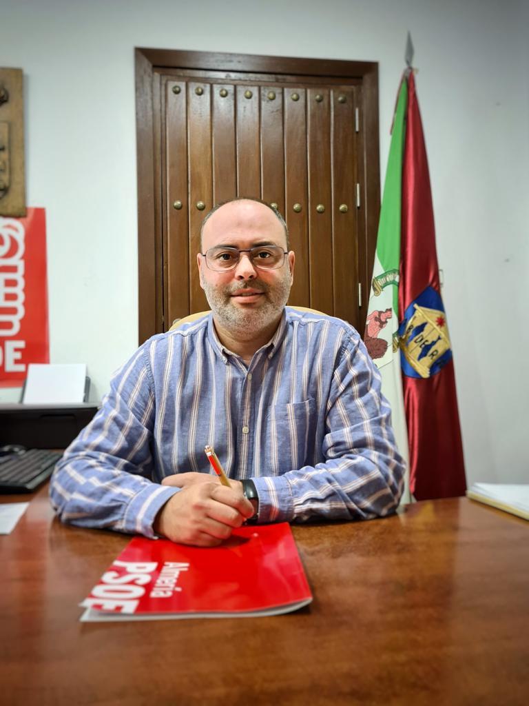 Francisco Utrera, concejal del PSOE en Adra.