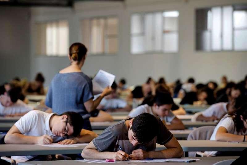 Alumnos de Bachillerato en un aula.
