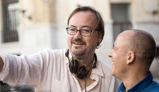 Manuel Martín Cuenca y el actor Javier Gutiérrez.
