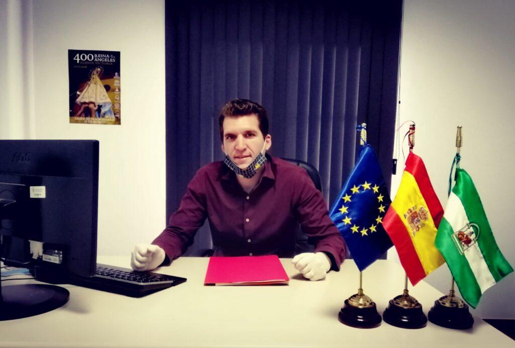 José Manuel Montero, alcalde de Fuente Victoria