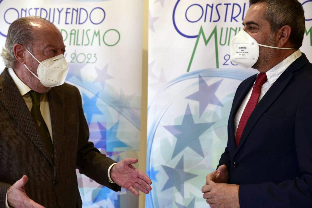 Fernando Rodríguez Villalobos y Juan Antonio Lorenzo Cazorla.