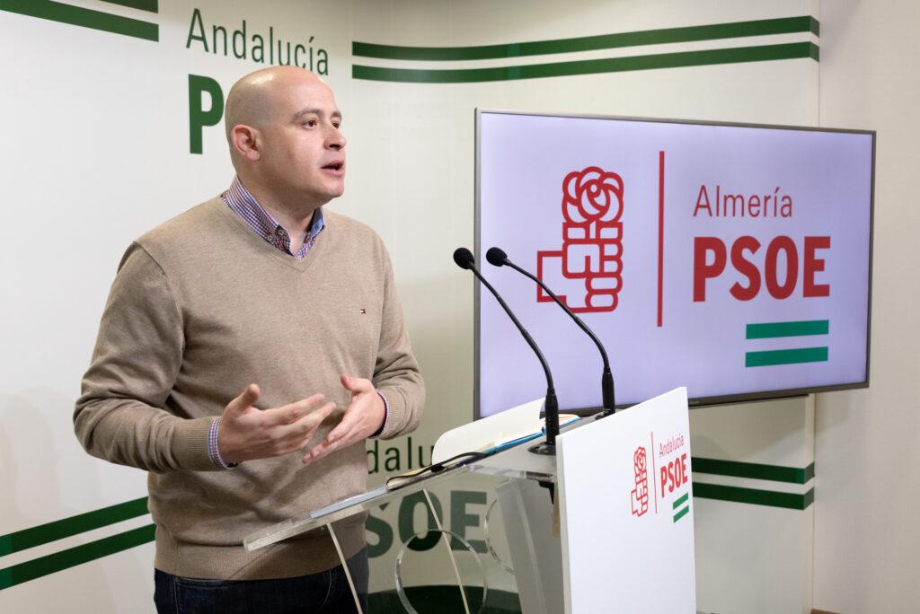 Antonio Martínez, senador y secretario de Organización del PSOE de Almería
