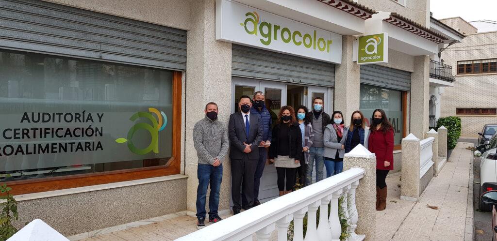 Nueva oficina de Agrocolor en Los Vélez.