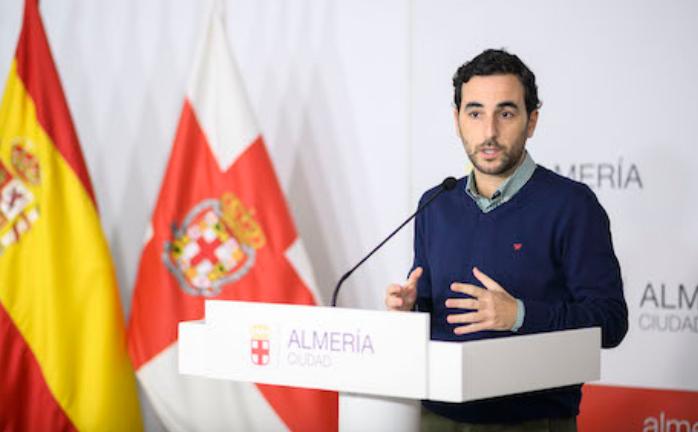 Carlos Sánchez, concejal en el Ayuntamiento de Almería