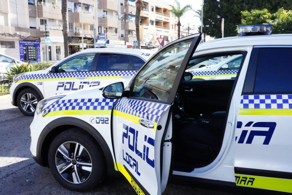 Nuevos vehículos para la Policía Local de Roquetas de Mar.