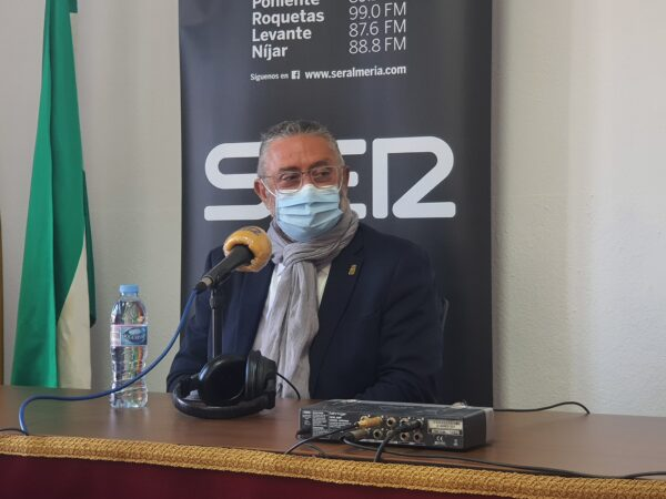 Francisco Torrecillas, alcalde de Albox.