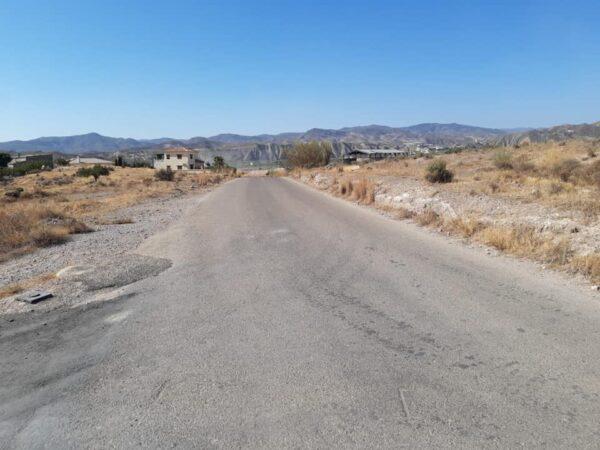 Carretera comarcal de Zurgena.