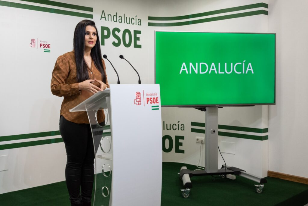 Noemí Cruz, parlamentaria andaluza del PSOE de Almería