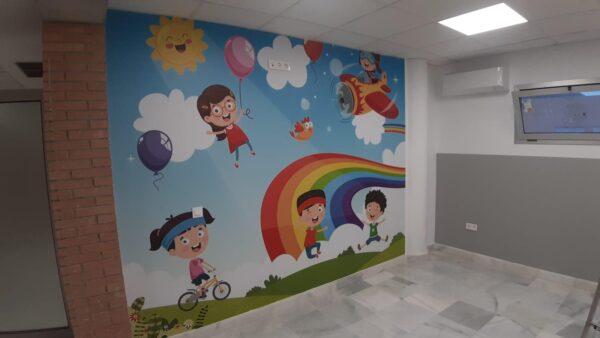 Consulta de Pediatría en el Hospital de La Inmaculada.