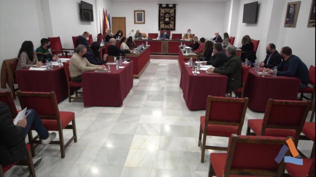 Pleno en el Ayuntamiento de Adra
