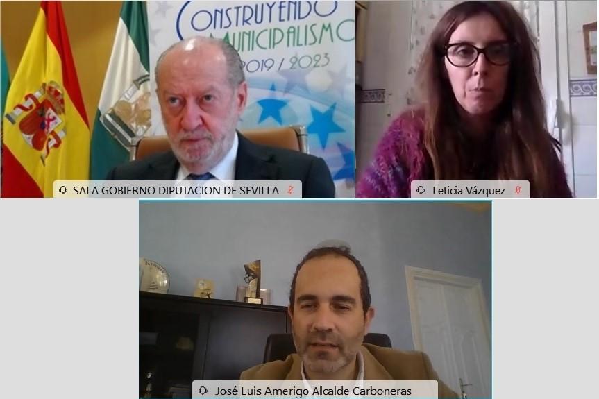 Reunión telemática de CODAPA y la FAMP