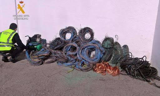 Cable robado.