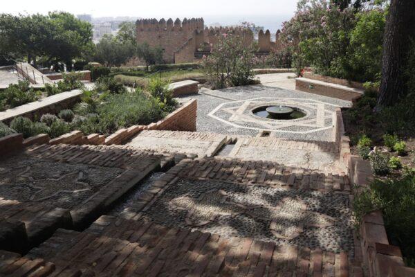 Acceso al segundo recinto de la Alcazaba de Almeria