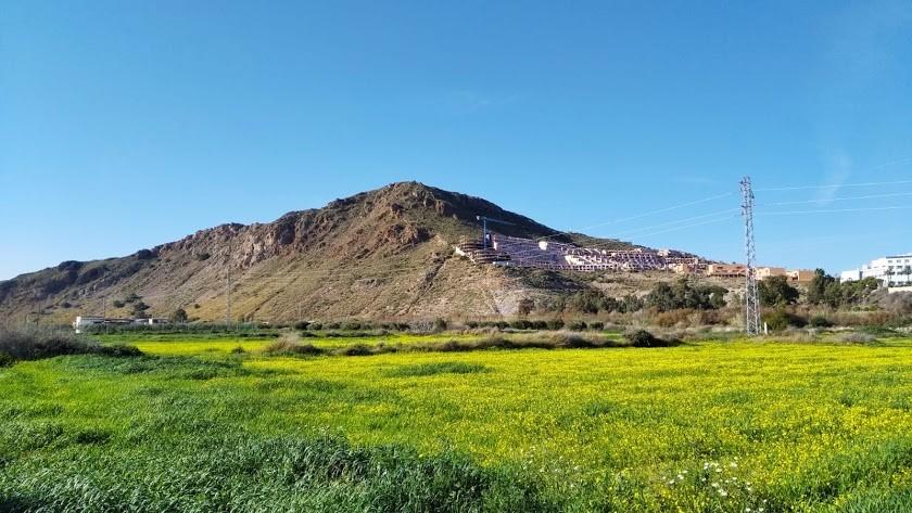 Cerro del Moro Manco, en Mojácar.