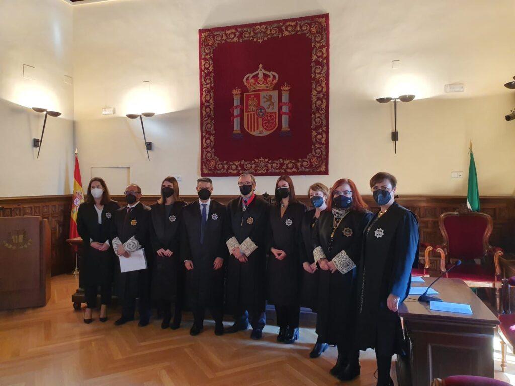 Jura de jueces en el TSJA.
