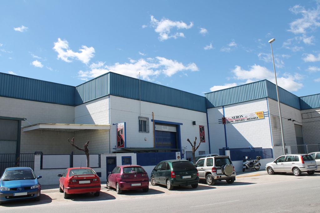 Polígono industrial de Serón.