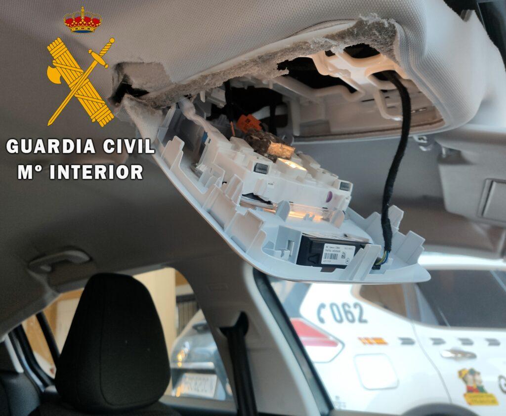 Operación policial en Cuevas del Almanzora.