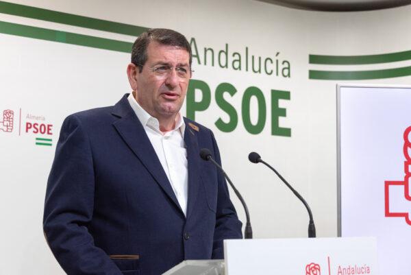 Martín Gerez, portavoz socialista en el Ayuntamiento de Vera