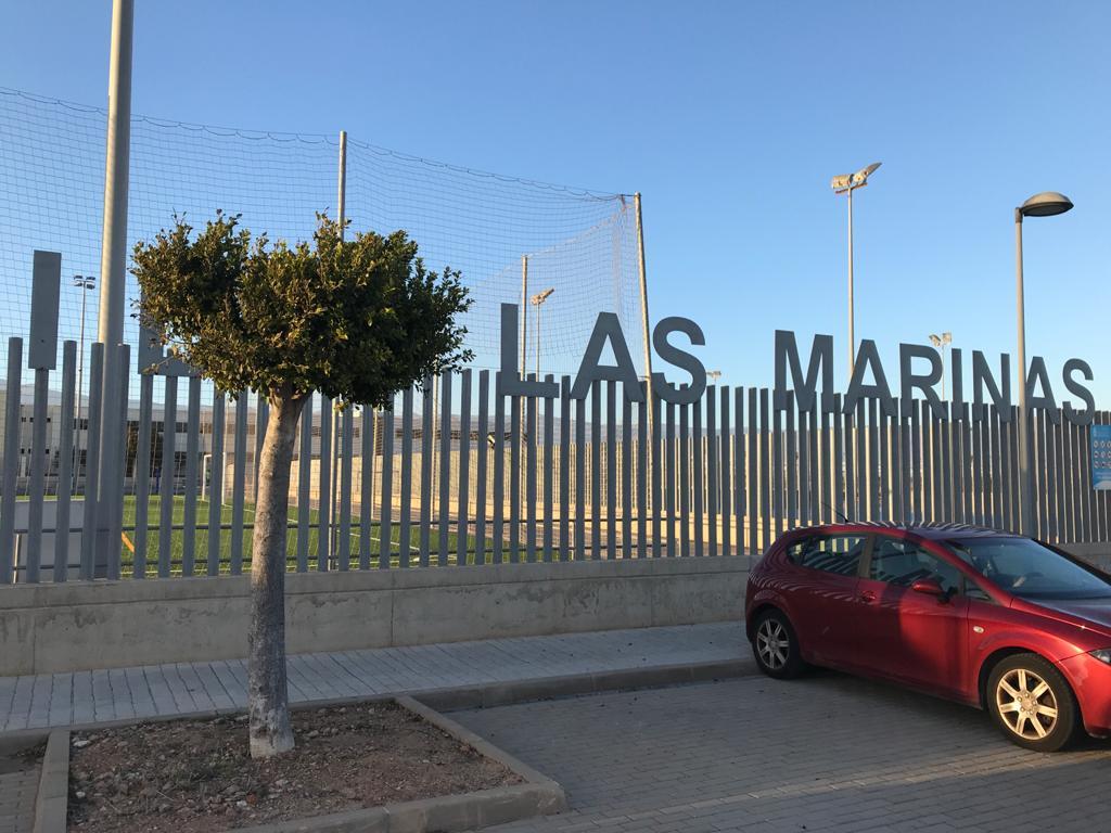 Las Marinas, en el municipio de Roquetas de Mar