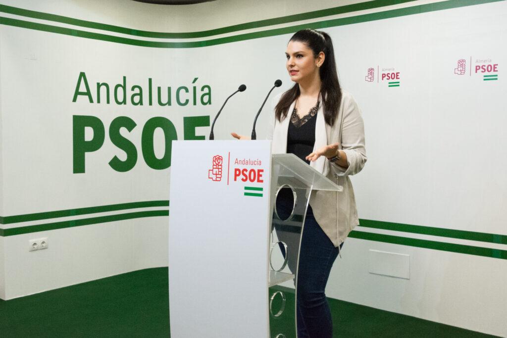 La parlamentaria del PSOE de Almería Noemí Cruz