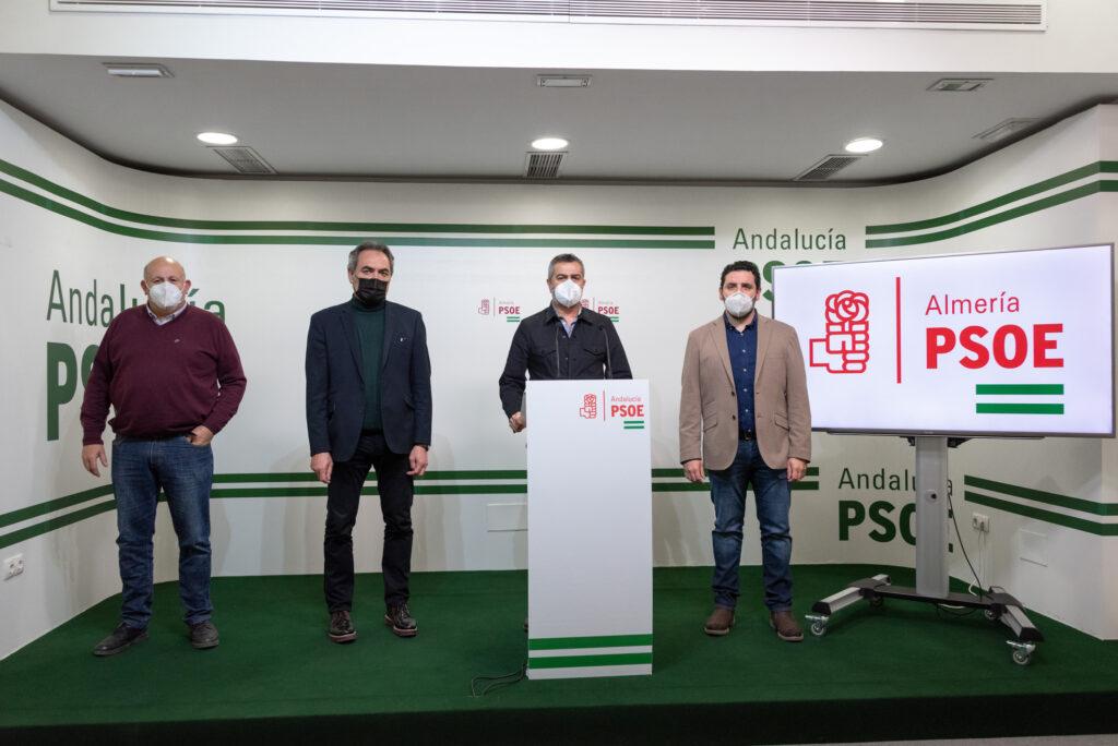 Antonio Gutiérrez, Marcelo López, Juan Antonio Lorenzo y Jua Manuel Ruiz