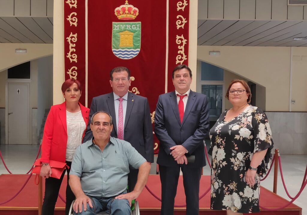 Concejales socialistas en el Ayuntamiento de El Ejido