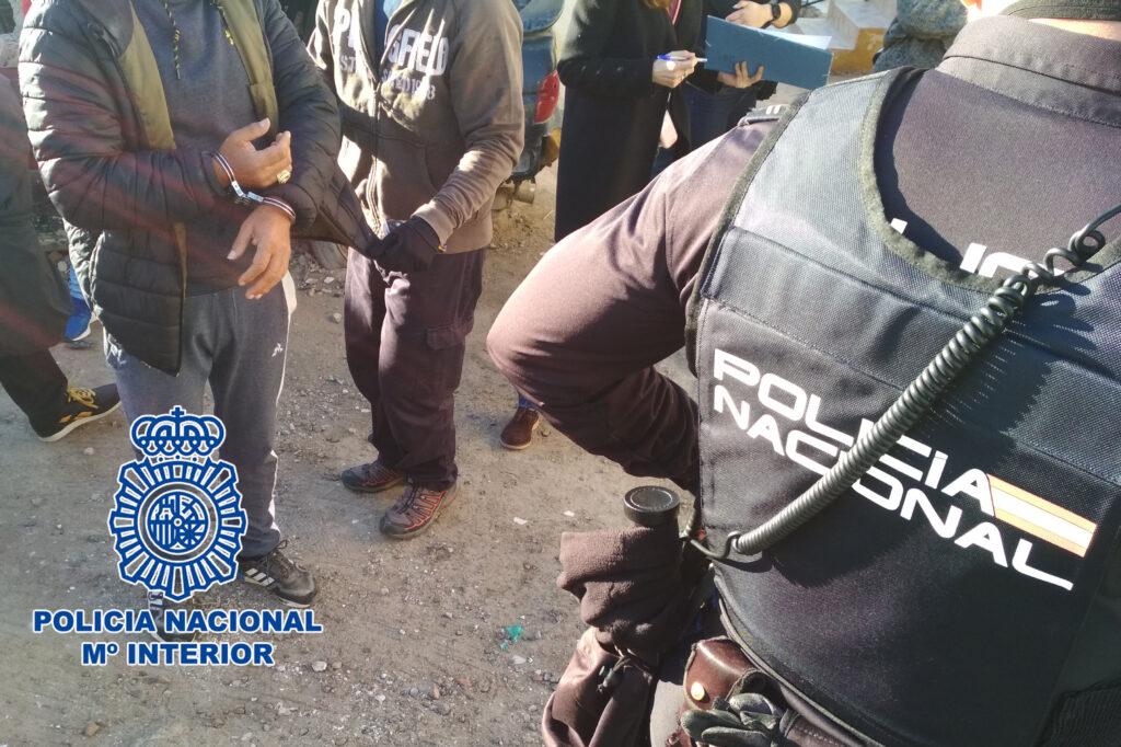 Operación de la Policía Nacional.