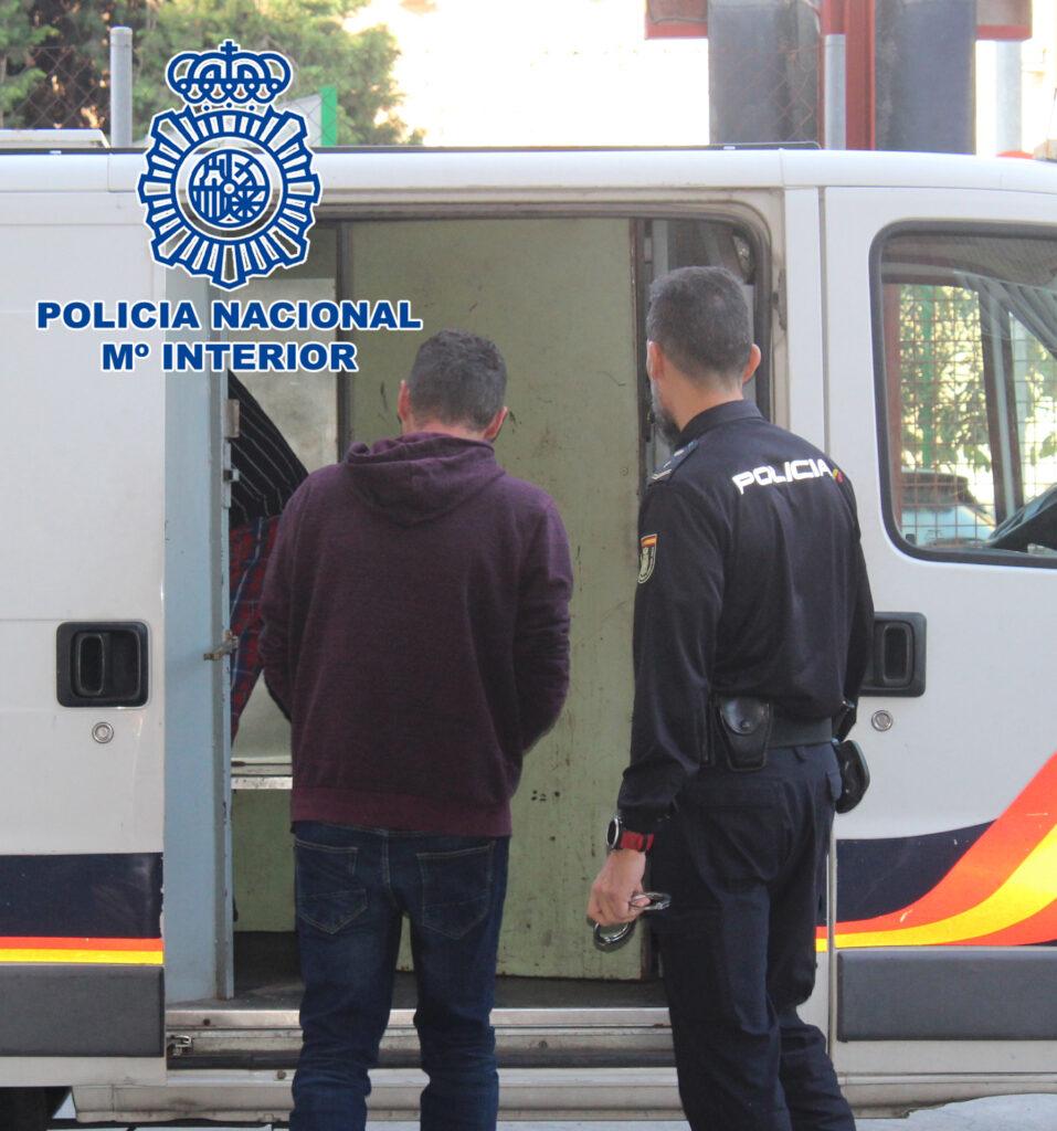 Operación de la Policía Nacional en Almería.