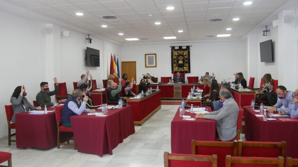 Pleno del Ayuntamiento de Adra