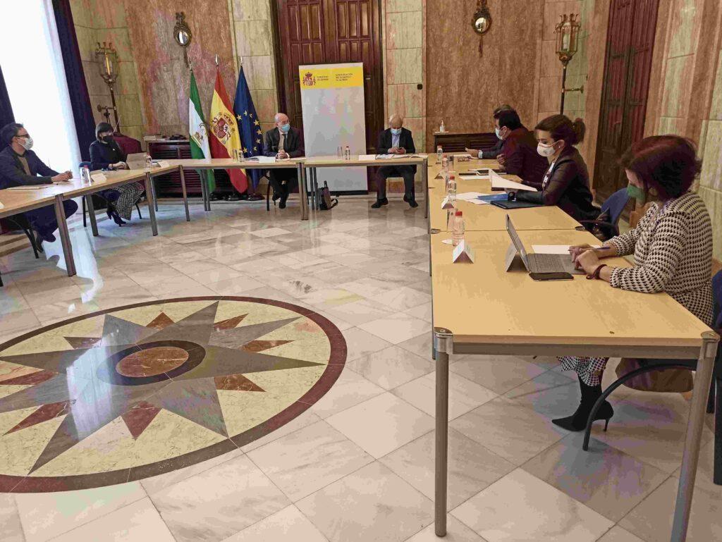 Reunión presidente FEGA análisis PAC
