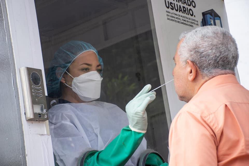 Un paciente se somete a una prueba PCR