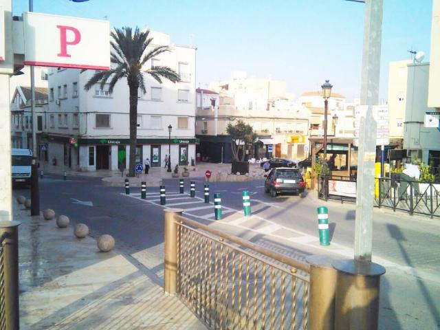 Vista del centro de Albox
